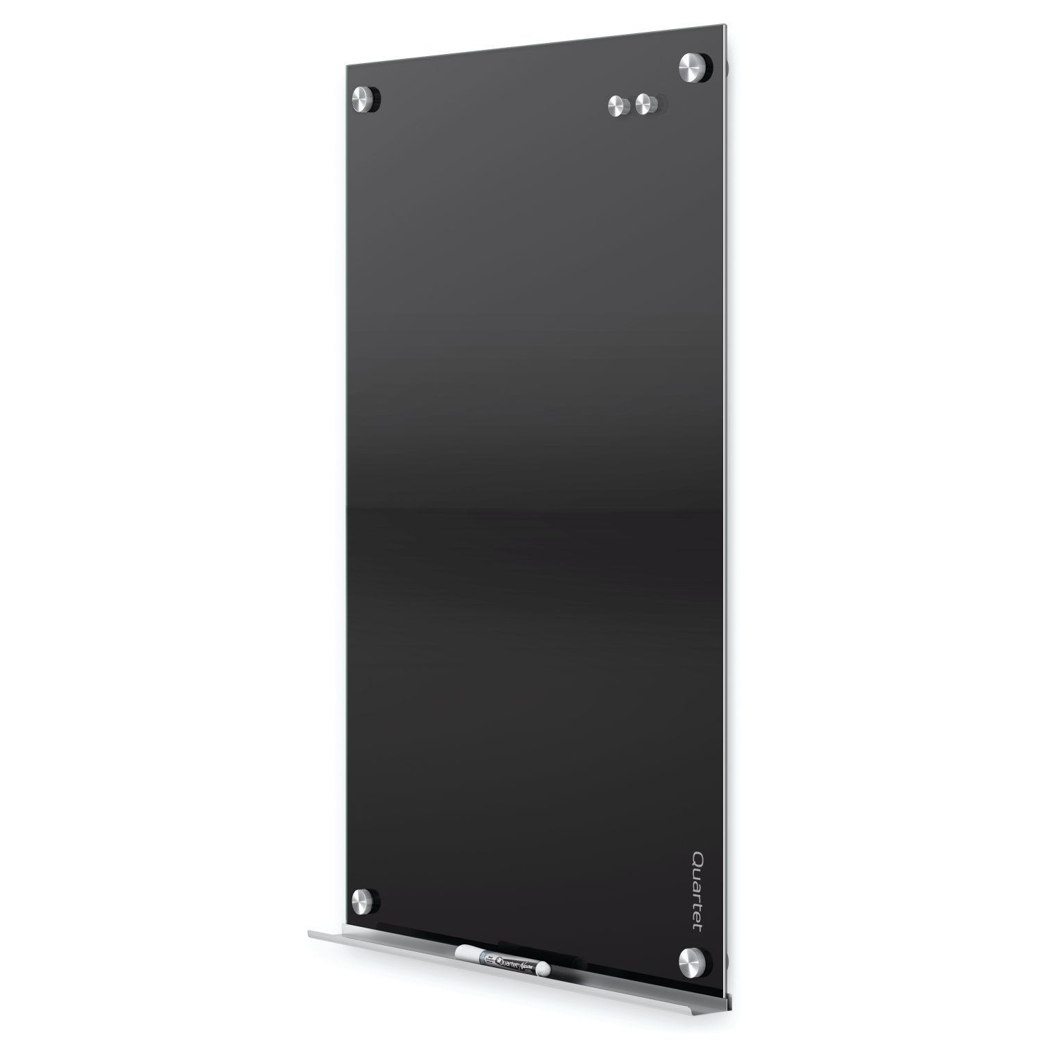 Quartet Glass Dry Erase Board, Magnetic Whiteboard, 2' x 1.5' White Board, Black Surface, Infinity (G2418B) by Quartet (Image #9)
