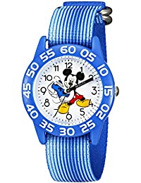 Kids' W002371 Mickey Mouse Time Teacher Watch with Blue Band