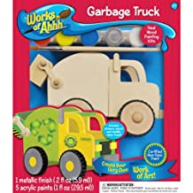MasterPieces Works of Ahhh Garbage Truck Wood Paint Kit