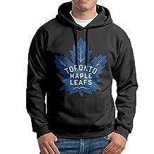 SARAH Men's 2016 Toronto Maple Leafs Logo Hoodie L Black