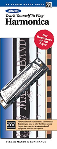 Alfred's Teach Yourself to Play Harmonica: For Beginners of All Ages, Comb Bound Book & Harmonica (Teach Yourself - Teach Yourself Play Harmonica