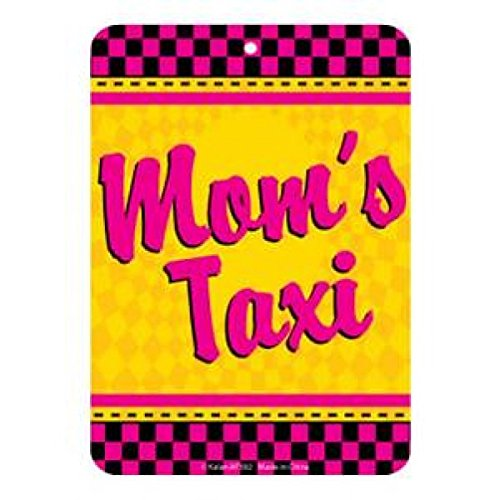Moms Taxi Air Freshener Auto Home Blackberry Scented