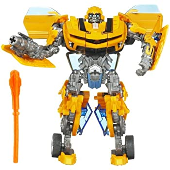 transformers 2 revenge of the fallen movie deluxe class bumblebee action figure. Black Bedroom Furniture Sets. Home Design Ideas