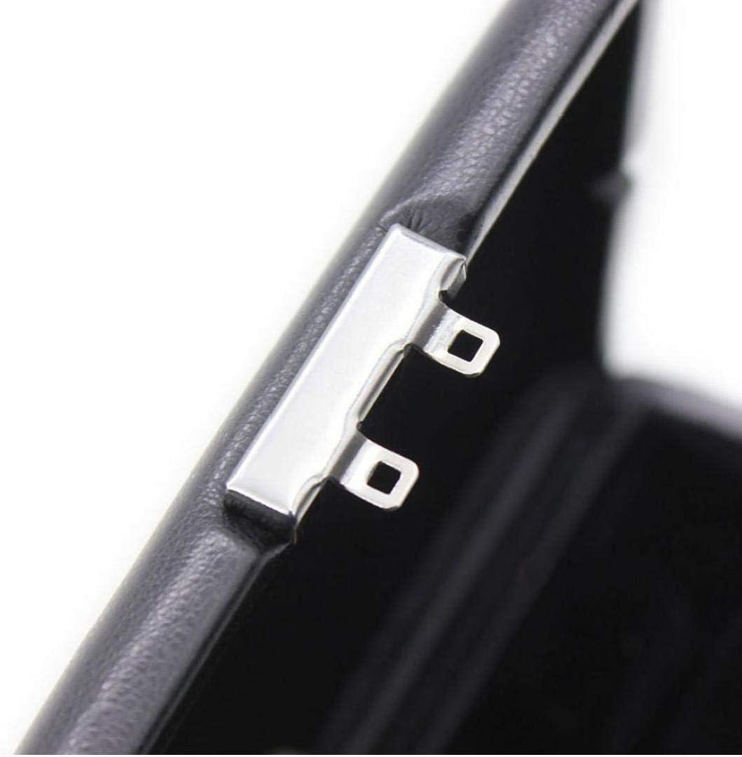 Caso Caja de la Caja de Almacenamiento Reed Reedcase Cuero de la PU para Oboe Fagot 3pcs ca/ñas Accesorios para Instrumentos