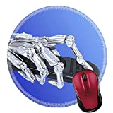 robotic human arm - Liili Round Mouse Pad Natural Rubber Mousepad IMAGE ID 32689272 Robotic arm with tv wireless console