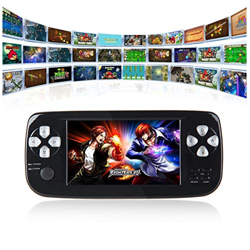 Handheld Game Console, 16GB 3000 Classic Portable Game Console Pap-KIII LCD Color Screen Support GBA/GBC/GB/Sega/NES/SFC/NEOGEO Birthday Gift for Children