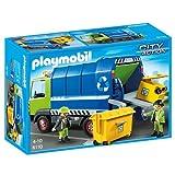 Playmobil Recycling Truck Building Set