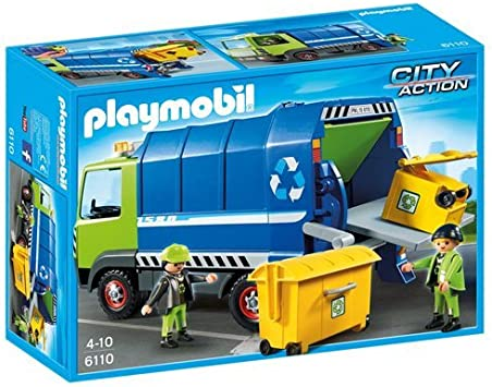 PLAYMOBIL - Camión de Reciclaje (61100)