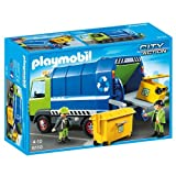 Playmobil - 6110 - Camion de recyclage ordures