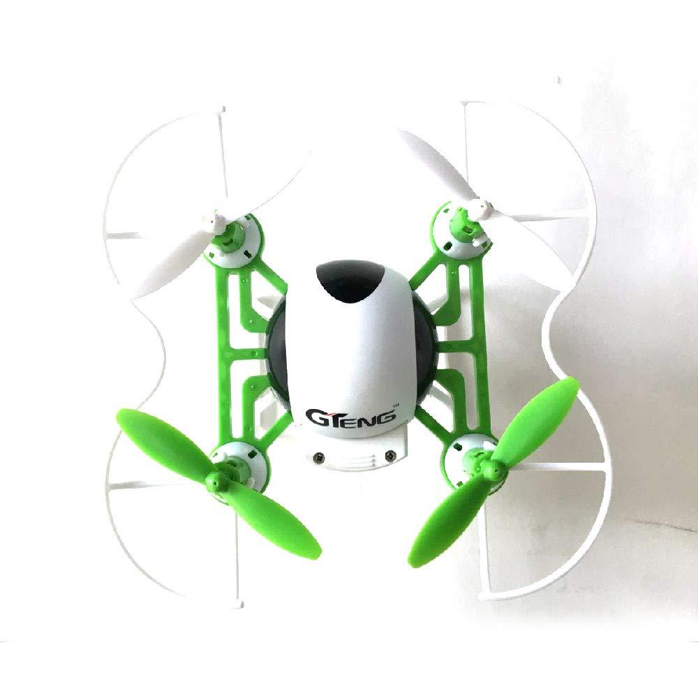 CQL Mini teledirigido Drone Fijo Alto teléfono móvil WiFi HD Antena en Tiempo Real transmisión de Imagen vídeo pequeño Modo sin Cabeza de Cuatro Ejes