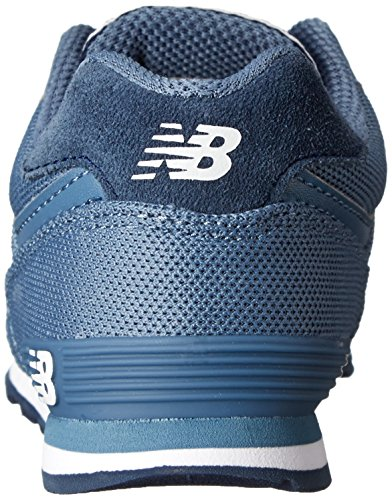 New Balance KL574 Pique Polo Pack Running Shoe (Infant/Toddler/Little Kid/Big Kid) Blue/Black