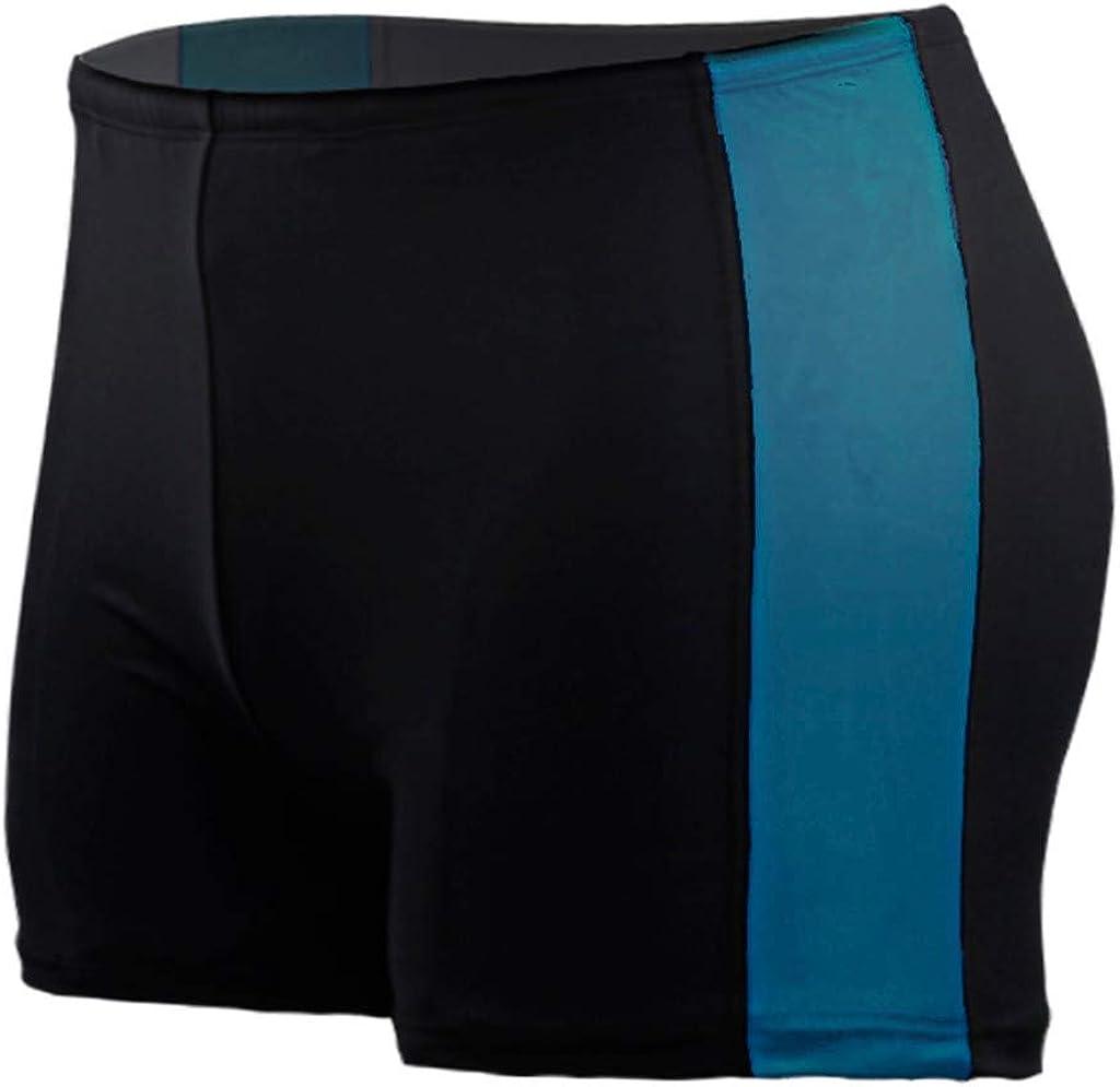 Aimik Swim Shirts for Men-Mens Beach Swimming Trunks Boxer Brief Swimsuit Swim Underwear Boardshorts