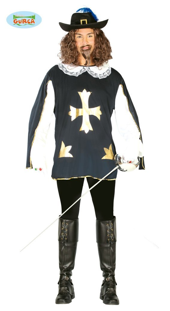 Disfraz de Mosquetero (Talla 48-52): Amazon.es: Juguetes y juegos