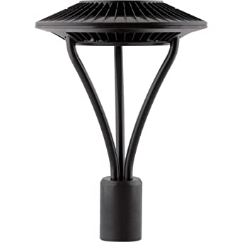 Rab aled5t52 52 watt led post top light fixture 5100k rab aled5t52 52 watt led post top light fixture 5100k stark white mozeypictures Gallery