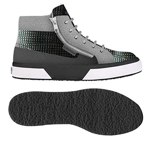 Sneakers - 2859-synthsquaresuew Grey