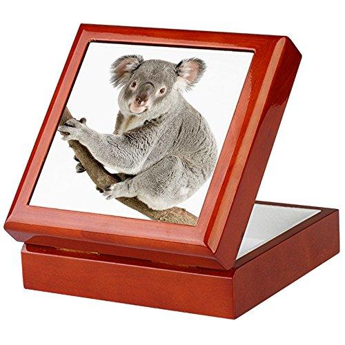 Keepsake Box Mahogany Koala Bear on Branch
