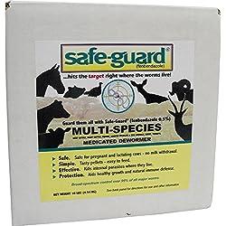 MERCK ANIMAL HEALTH 184306 Safe-Guard 0.50% Multi-Species Dewormer, 10 lb