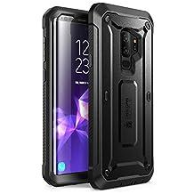 Supcase, Funda para Samsung Galaxy S9+, Negro