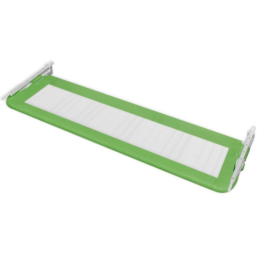 vidaXL Barandilla Seguridad Cama Ni/ños Verde 150x42 cm Barrera Infantil Dormir