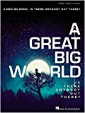 Hal Leonard A Great Big World - Is There Anybody Out There? For Piano/Vocal/Guitar
