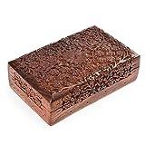 Rusticity Wood Jewelry Box Organizer Dec