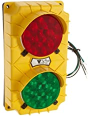 Ideal Warehouse Innovations, Inc. 60-5429 SG10 LED Stop and Go Light Signal System, 6-3/8-Inch Width X 11-3/8-Inch Height X 3-3/4-Inch Depth