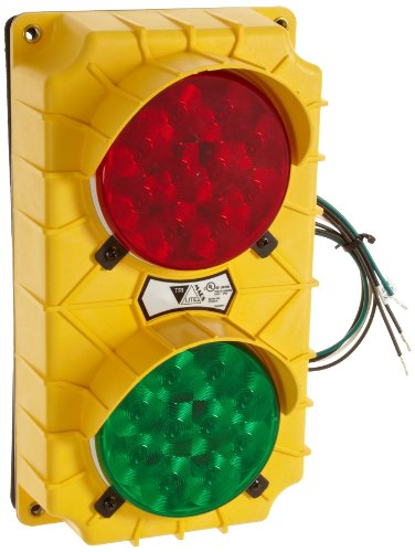 Stop Traffic Light - IRONguard SG10 LED Stop and Go Light Signal System, 6-3/8-Inch Width X 11-3/8-Inch Height X 3-3/4-Inch Depth