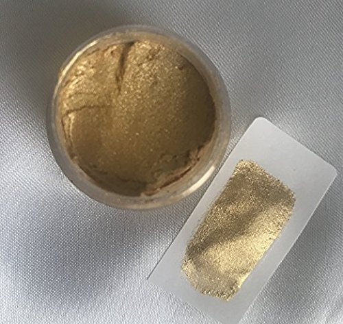 SUPER GOLD METALLIC LUSTER Metallic Dust 4 Oz OUNCES By Oh! Sweet Art Corp by Oh! Sweet Art (Image #1)