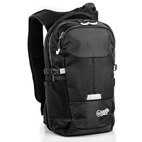 Wolffepack Summit, Award Winning Design, Ski & Snowsports Backpack 16 + 2L by Wolffepack