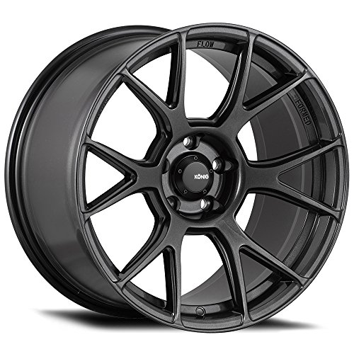 19 Inch Konig 56MG Ampliform 19x9.5 5x114.3 +25mm Graphite W