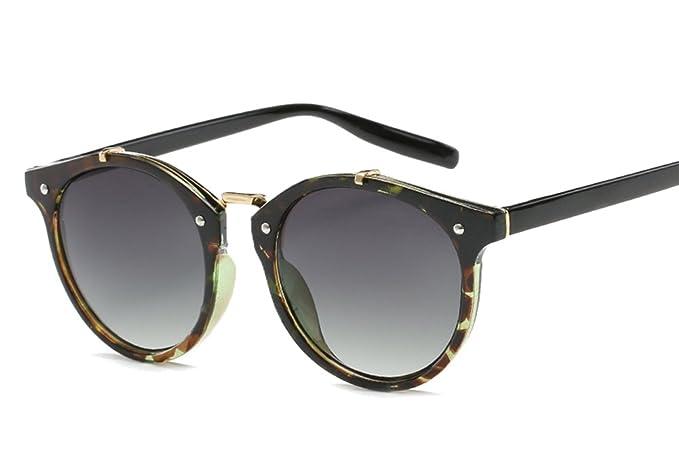 8da0d67f76 Gafas de Sol Vintage Lentes Redondos Gafas para Hombre y para Mujer ...