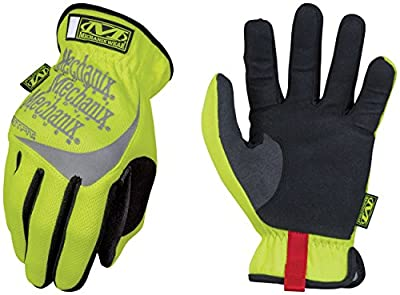 Mechanix Wear Hi-Viz FastFit Yellow