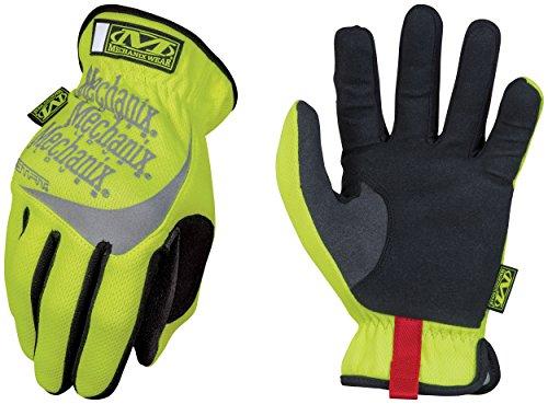 Mechanix Wear - Hi-Viz FastFit Gloves (X-Large, Fluorescent Yellow)