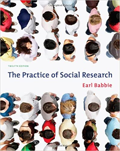 The Practice Of Social Research Available Titles CengageNOW