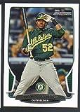 2013 Bowman Baseball #194 Yoenis Cespedes Oakland Athletics