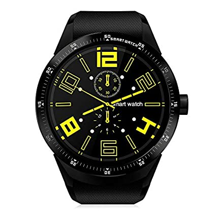 Amazon.com: VCB BRAND K98H 3G Smartwatch Android 4.1 GPS ...