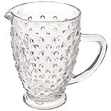 Abbott Collection Hobnail Glass Jug