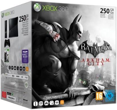 Microsoft Xbox 360 S 250GB + Batman Arkham City - juegos de PC ...