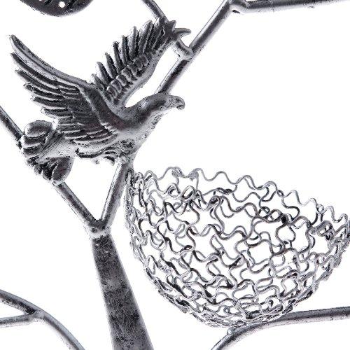 Songmics® Schmuckbaum Schmuckständer Ohrringhalter Kettenständer Antike Silber JDS051 -
