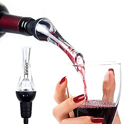 Wine Aerator Innoo Tech Wine Decanter Pourer and Wine Stopper for Whiskey, Red Wine, Premium Wine Dispenser, Spout Gift Set