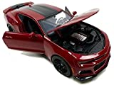 2017 Chevrolet Camaro ZL1 Burgundy 1/24 Diecast Model Car by Maisto 31512