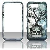 2D Skull Tree Motorola Photon Q LTE XT897 Sprint Case Cover Phone Snap on Cover Case Faceplates