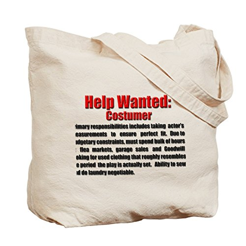 CafePress Help Wanted costumer Design unico, con borsa, misura Standard