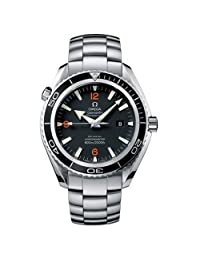 Omega Mens 2200.51.00 Seamaster Planet Ocean Xl Automatic Chronometer Stainless Steel Watch