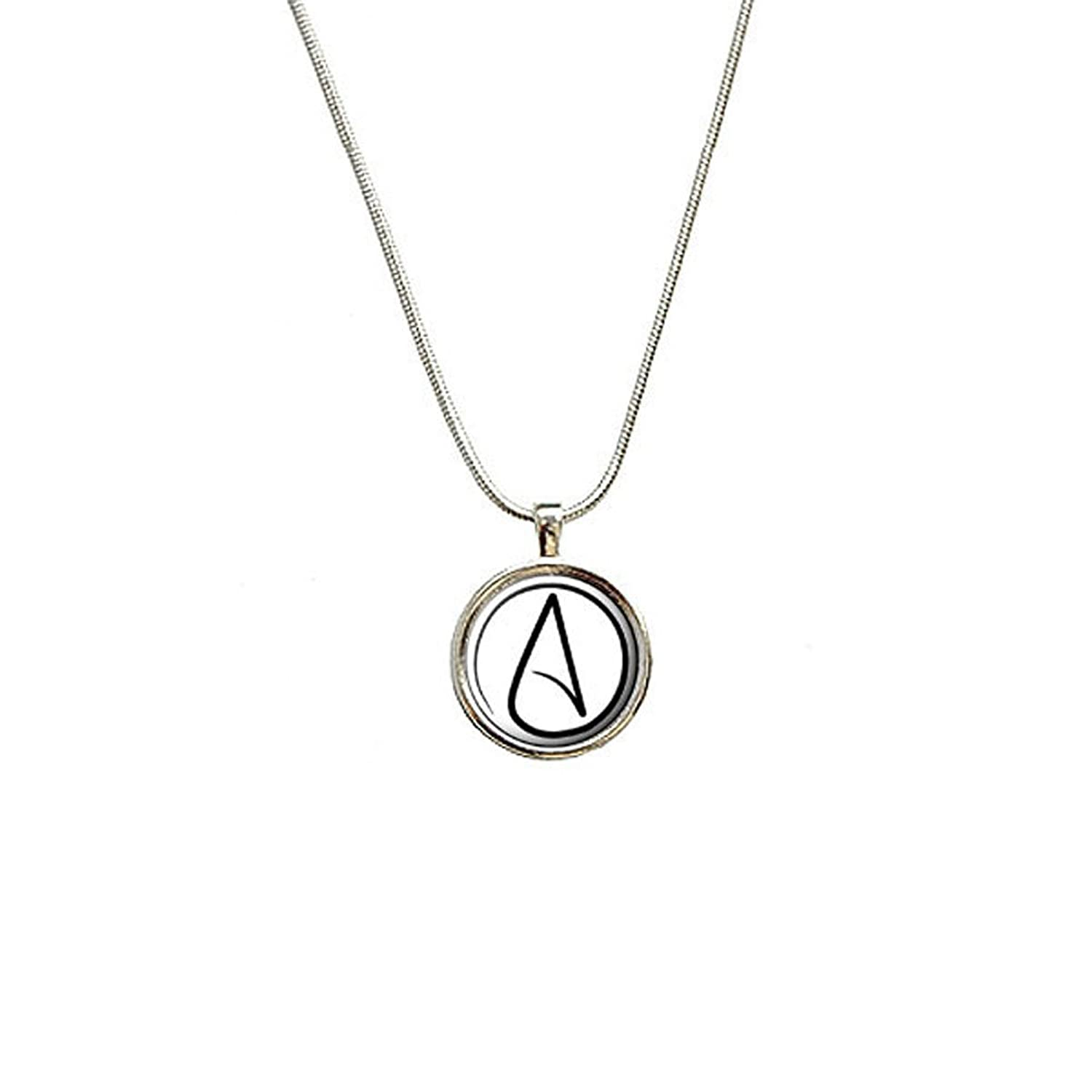 Amazon Atheism Atheist Symbol Pendant With Sterling Silver