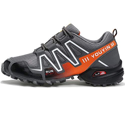Aire Libre Senderismo Gris Zapatillas Senderismo De Zapatillas Deportes ALIKEEYHombres Athletic Sneakers Al Zapatos vPxOnC