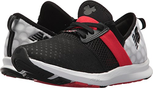 New Balance Women's Nergize V1 Fuelcore Disney Cross Trainer, Black/Red, 85 B US