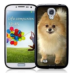 Cool Painting Pomeranian Dog - Protective Designer BLACK Case - Fits Samsung Galaxy S4 i9500