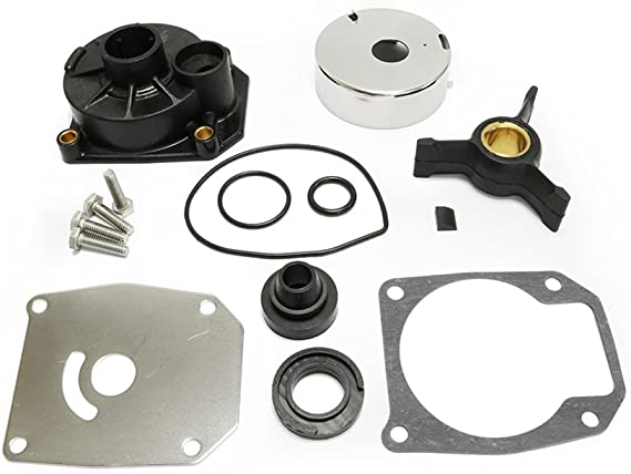 439077 0439077 V G Parts Water Pump Impeller Kit for Johnson Evinrude 40-60 HP 1984 1985 1986 1987 1988 Replaces Sierra 18-3399