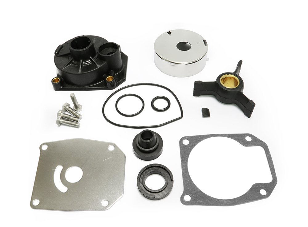 Full Power Plus Johnson Evinrude 40HP 50HP Water Pump Repair Kit Outboard  Impeller Replacement Parts with Housing Sierra 18-3454 438592 433548 433549